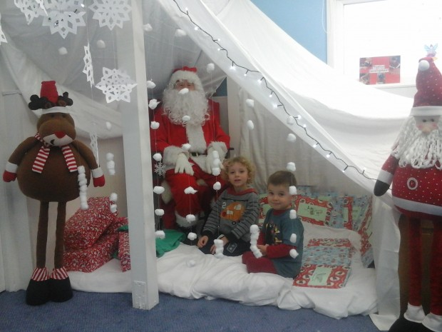 father christmas at hopscotch