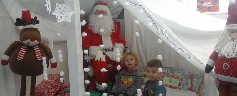 Santa at Portland Road