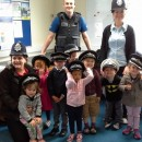 hopscotch nursery visit the local police station