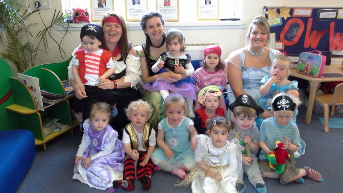 pirates and princesses at peacehaven