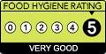 food hygiene 5 stars